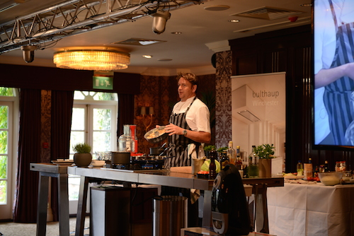 James Martin at Chewton Glen supported by bulthaup Winchester