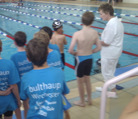 bulthaup Winchester sponsors Penguins Swimming Gala