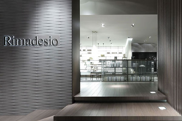 Rimadesio stand at Milan Furniture Show 2015