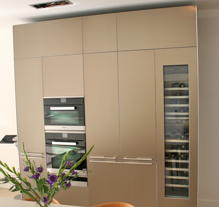 Bulthaup b3 luxury kitchen display