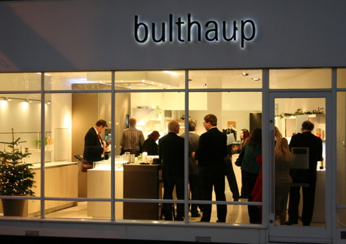 bulthaup kitchen showroom, Winchester, Hampshire