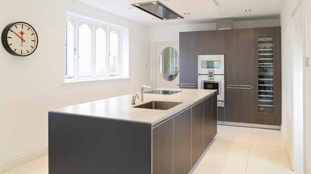 Luxury kitchen for character victorian villa bulthaup winchester