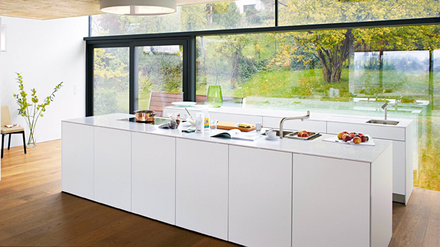 Merveilleux Classic Kitchen In Bulthaup B White With Bulthaup